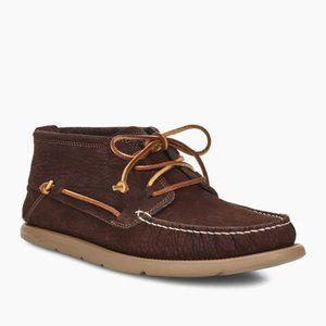 UGG Beach Moc Chukka Ankle-High Leather Moccasins